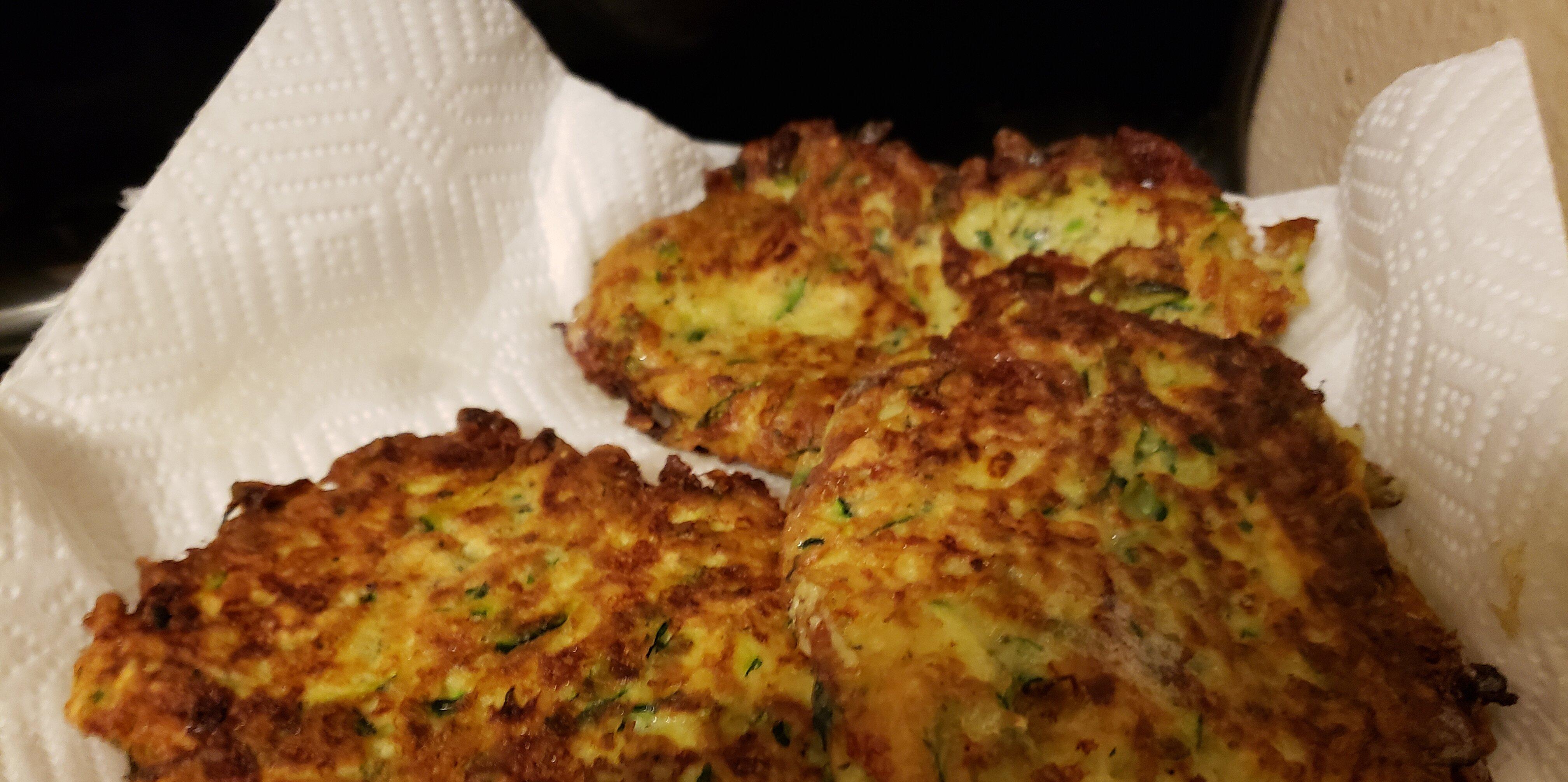 the best zucchini fritters ever recipe