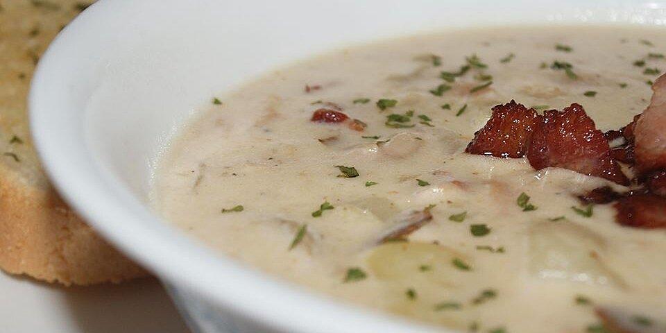 new england clam chowder i recipe