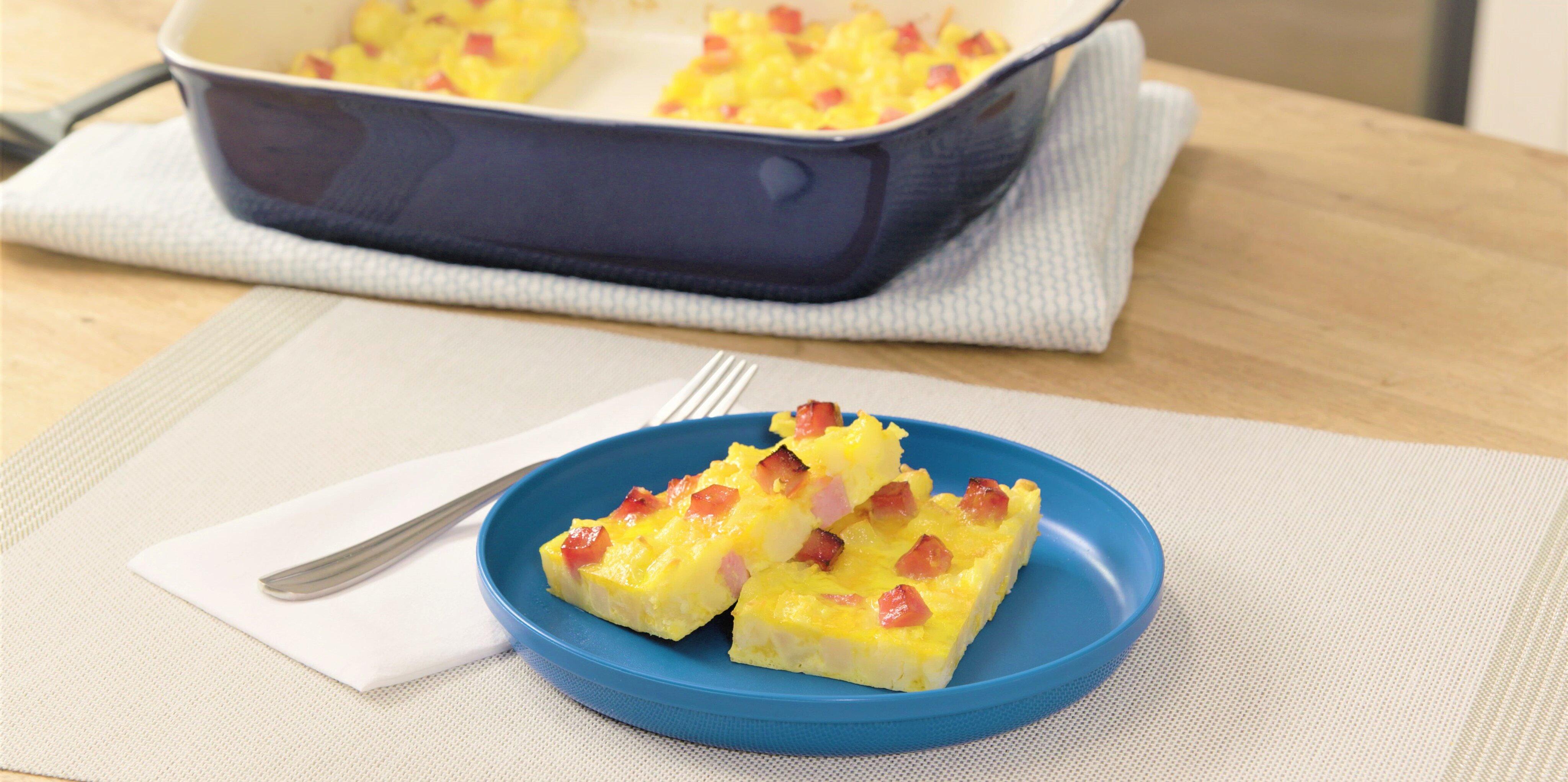 make ahead breakfast bars recipe