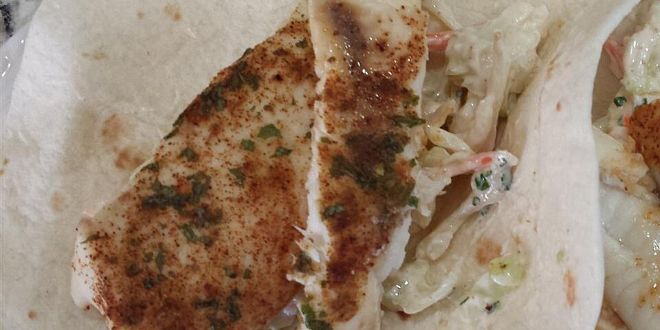 broiled tilapia fish tacos with cilantro lime slaw recipe