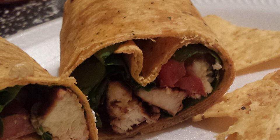 chicken feta cheese and sun dried tomato wraps recipe
