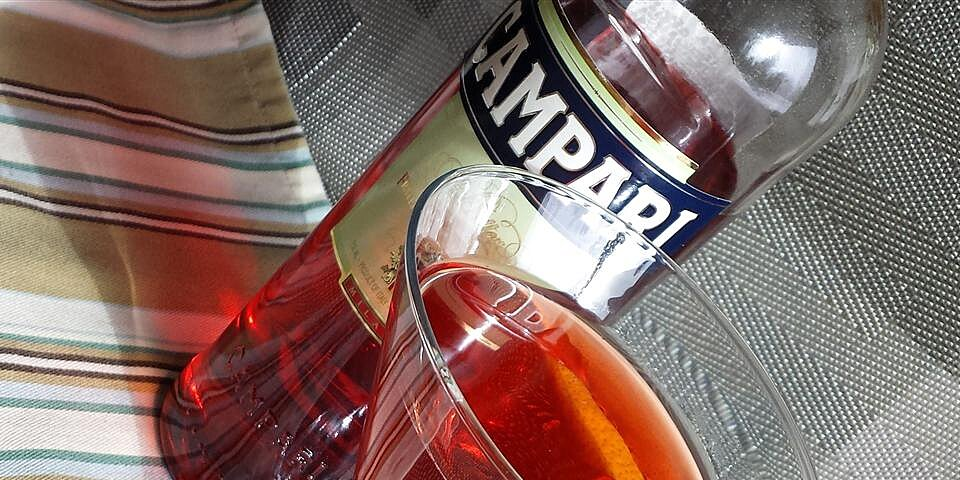 negroni dolce cocktail recipe