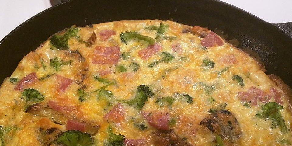 nans potato and egg frittata recipe