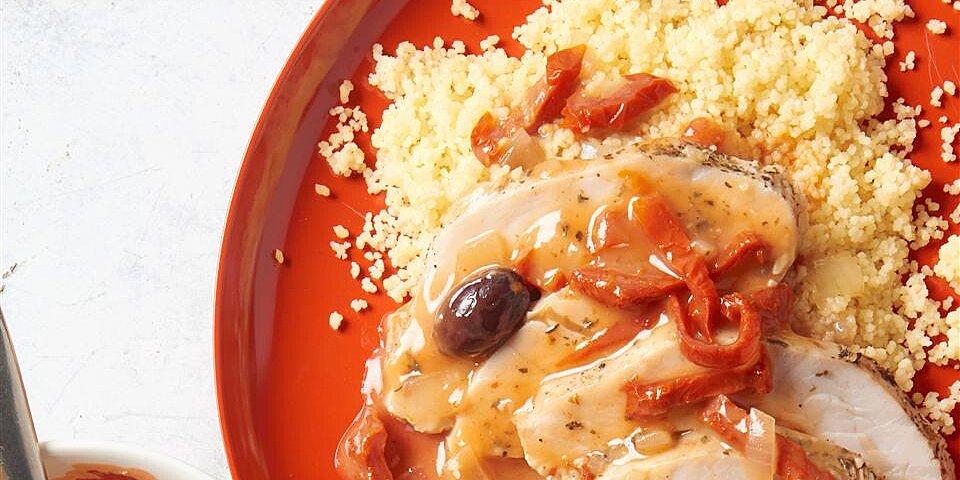 slow cooker mediterranean roast turkey breast