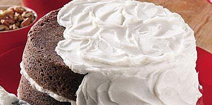 Chocolate Velvet Cake & Vanilla Buttercream Frosting Recipe