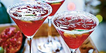 Pomegranate Key Lime Vodka Cocktails Recipe Myrecipes