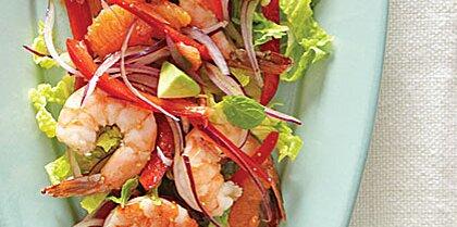 Marinated Shrimp Salad with Avocado Recipe