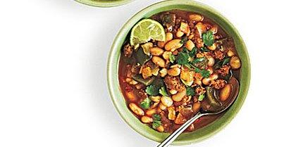 White Bean And Hominy Chili Recipe Myrecipes