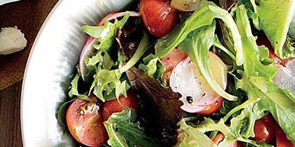 Simple Salad with Lemon Dressing Recipe