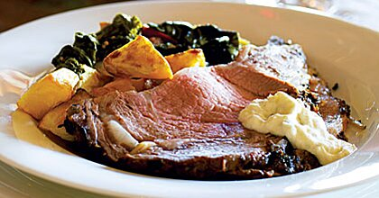Salt- & Herb-Crusted Prime Rib & Fresh Horseradish Sauce Recipe