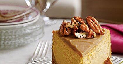 Pumpkin-Pecan Cheesecake Recipe