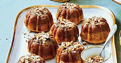 Rum-Glazed Sweet Potato Cakes Recipe