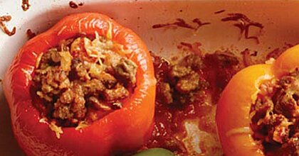 Slow Cooker Stuffed Peppers Recipe Myrecipes