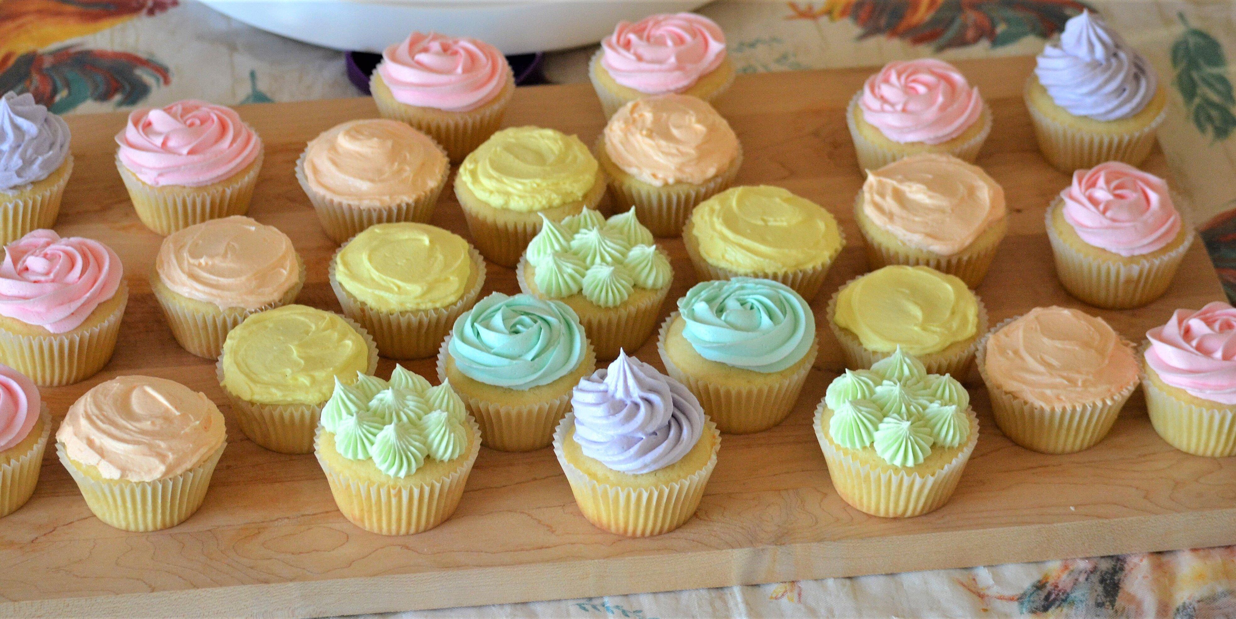 vanilla cupcakes with swiss meringue buttercream recipe