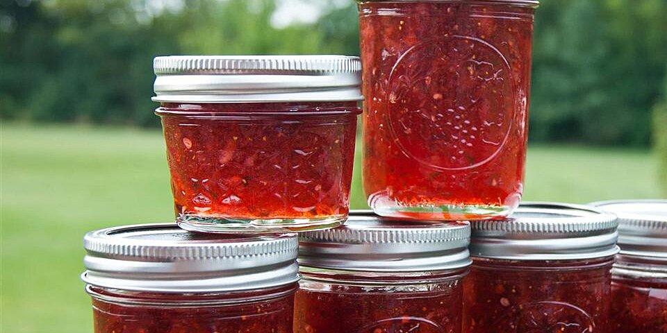 strawberries and champagne jam recipe