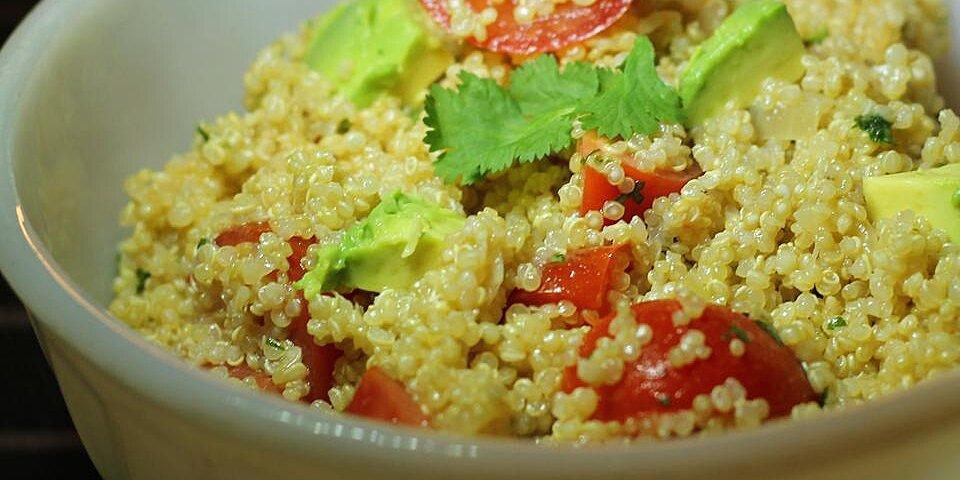 guacamole style quinoa recipe