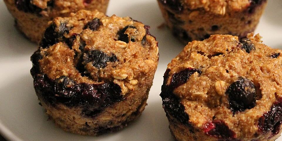 oat and blueberry muffins recipe