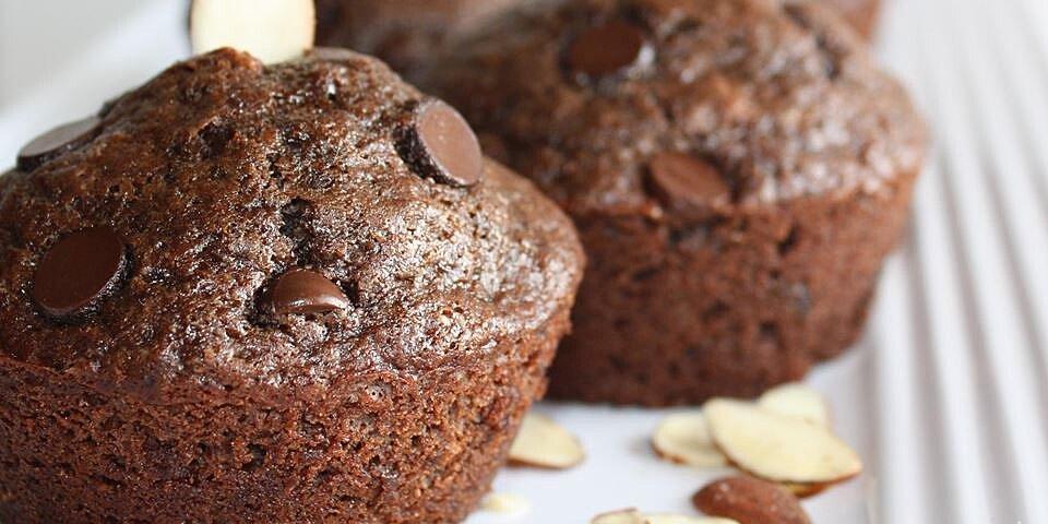 chocolate chocolate chip nut muffins recipe