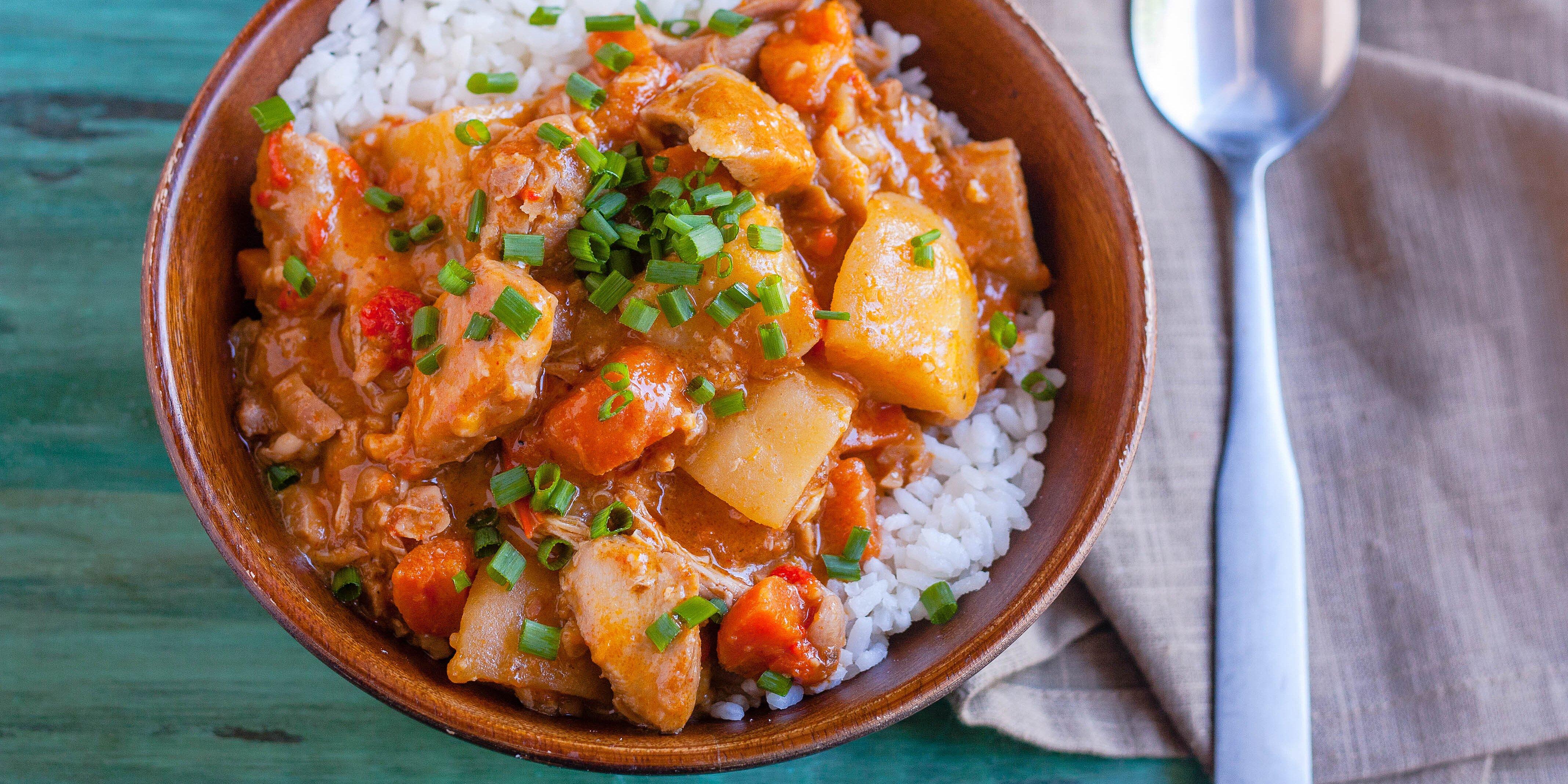slow cooker chicken massaman curry recipe