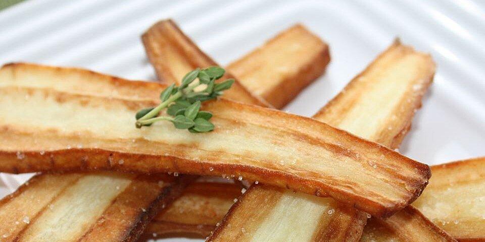 butter fried parsnips recipe