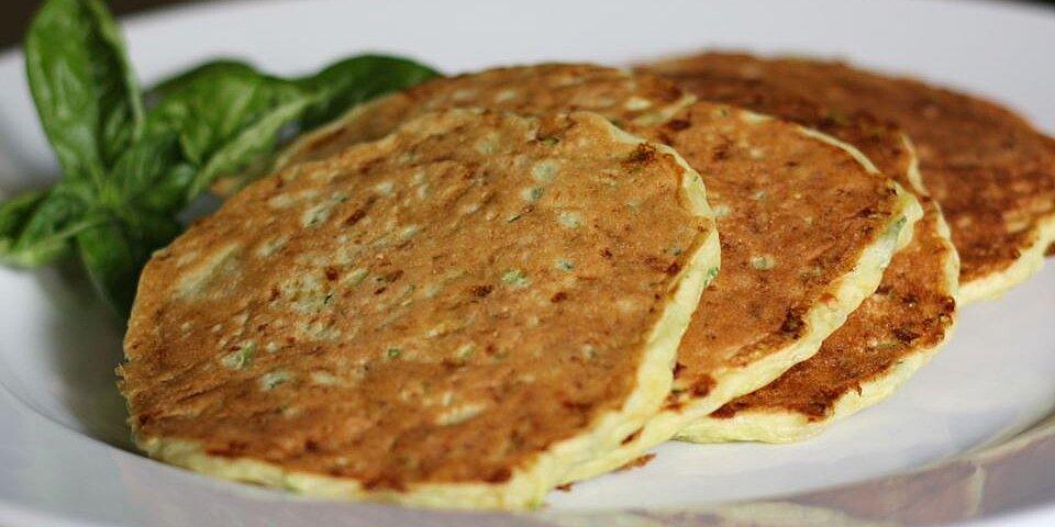 zucchini cheddar pancakes recipe