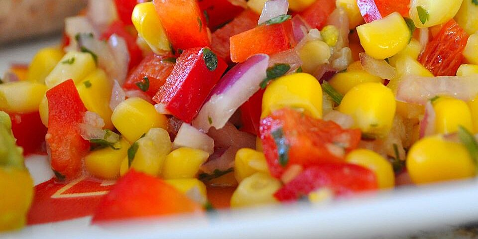 southwestern roasted corn salad recipe