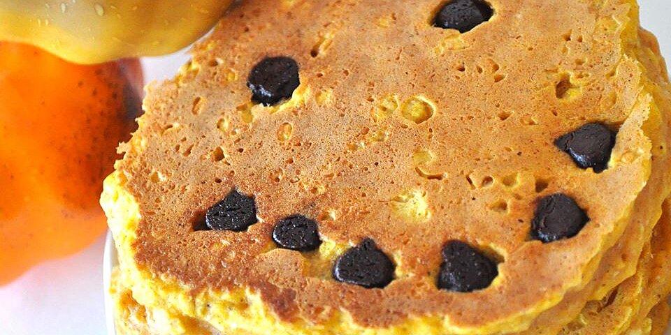 jack o lantern pumpkin pancakes recipe