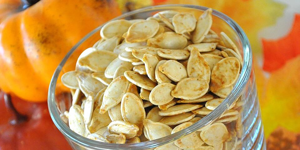 savory toasted pumpkin seeds recipe