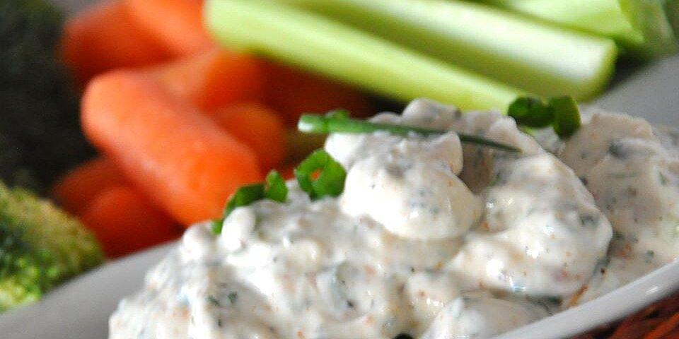 no guilt zesty ranch dip recipe