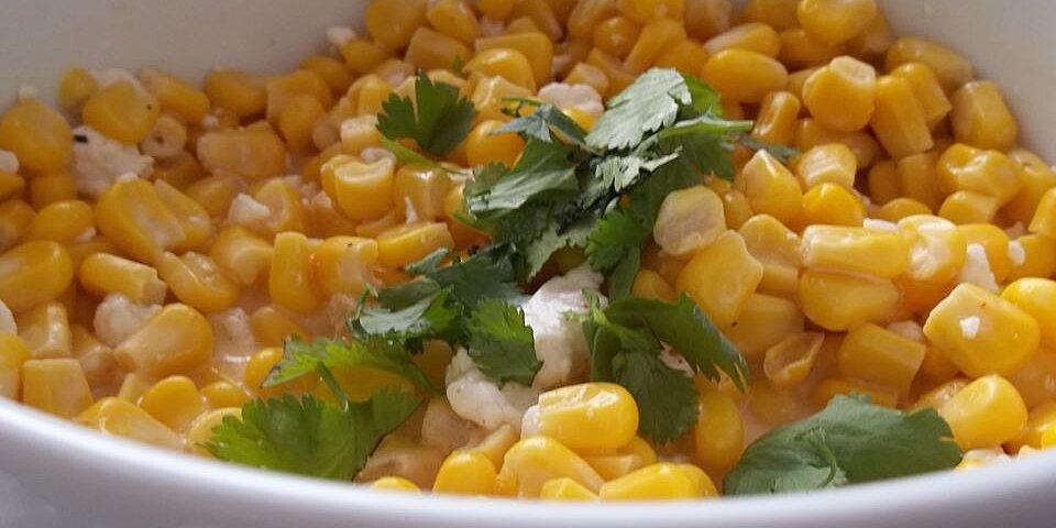 mexican street vendor style corn salad recipe