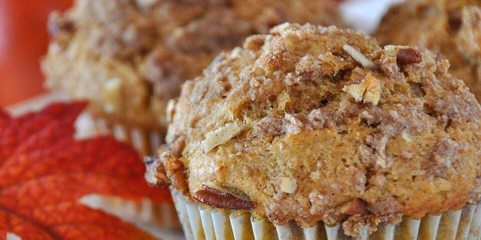 whole wheat pumpkin applesauce muffins recipe