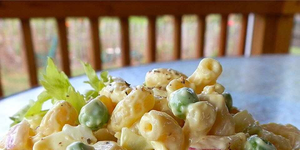 lower fat amish macaroni salad recipe