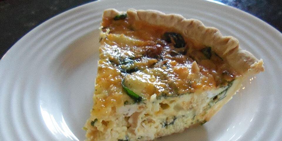 spinach quiche with chicken recipe