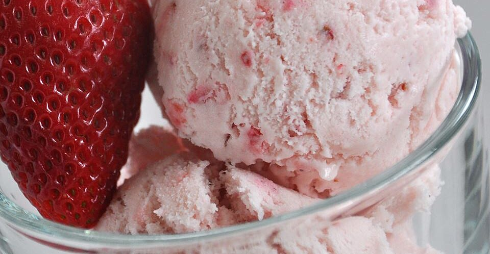 Easy, Eggless Strawberry Ice Cream Recipe | Allrecipes