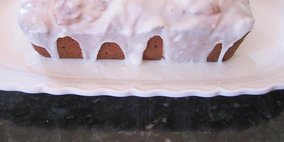 passover iced lemon loaf recipe