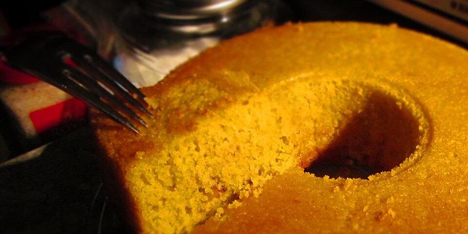 sweet cornmeal cake brazilian style recipe