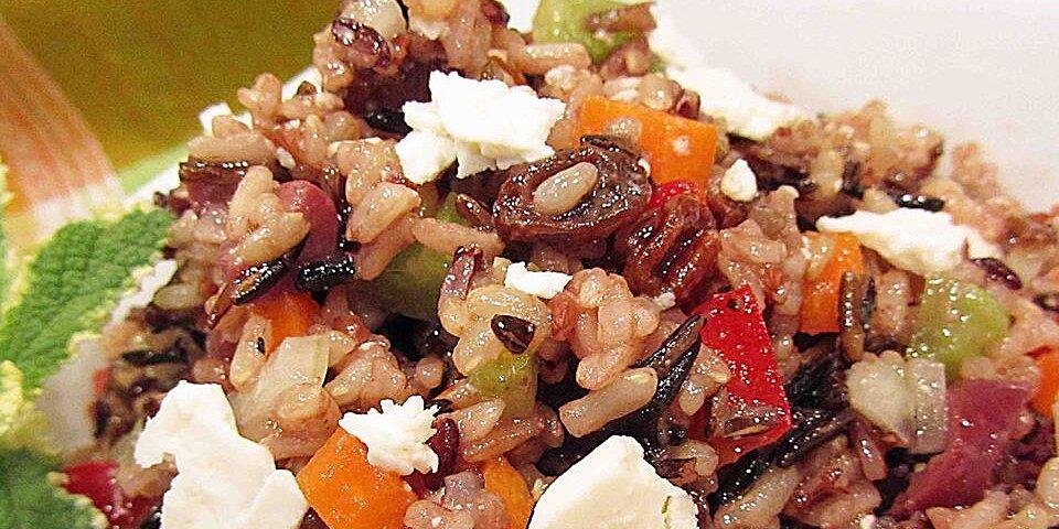 mediterranean brown rice salad recipe