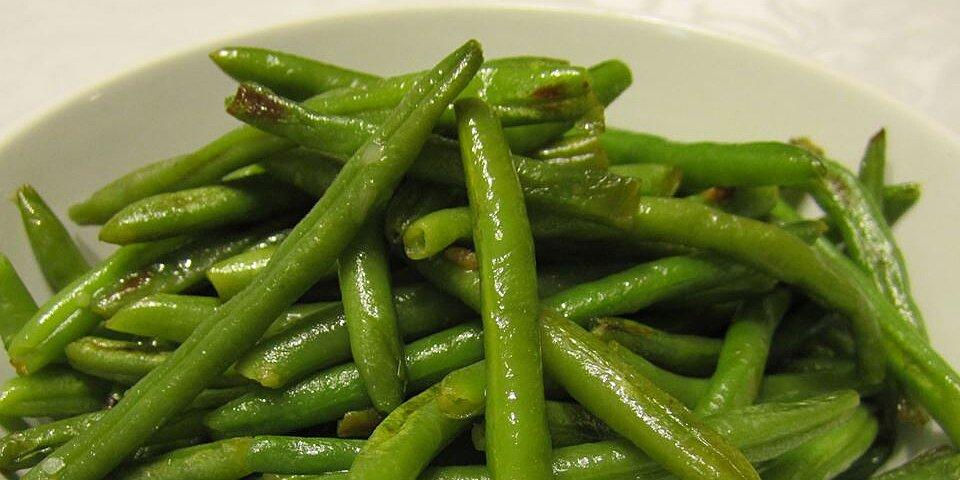 easy garlic green beans recipe