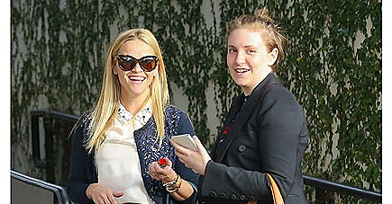 Reese Witherspoon and Lena Dunham Have Lunch Date in L.A.