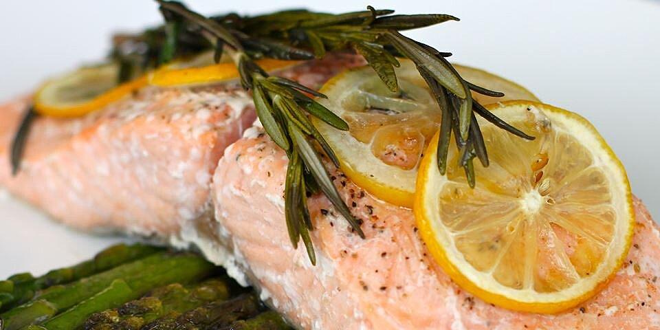 lemon rosemary salmon recipe