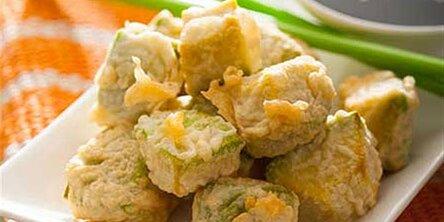 tempura fried avocado bites recipe