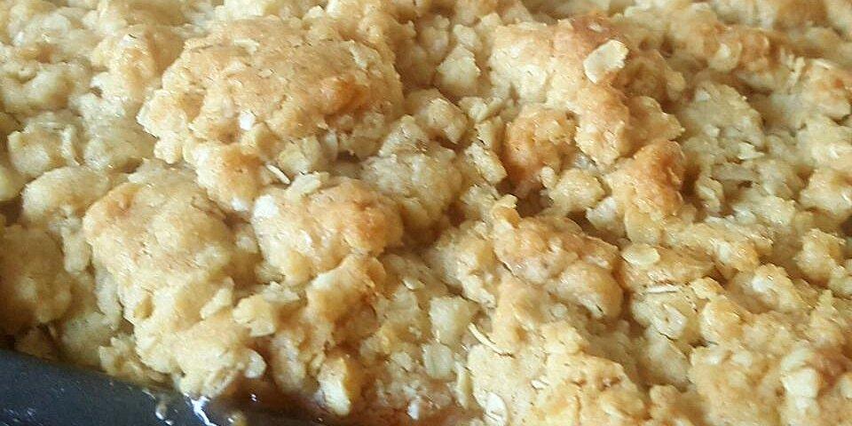 moist apple crisp recipe