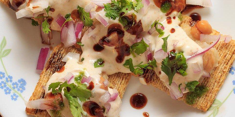 chaat dahi batata puri recipe