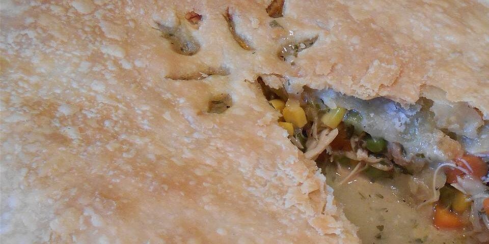 turkey pot pie i recipe