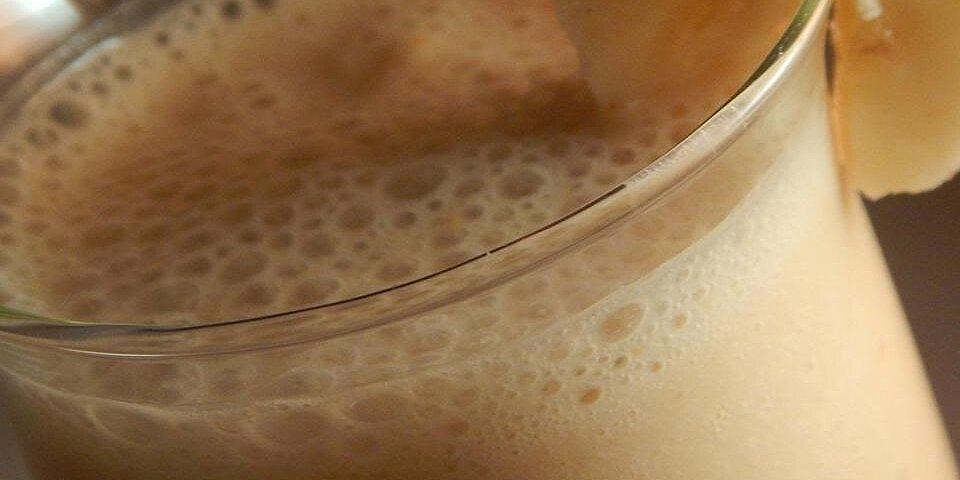 dairy free peanut butter and banana smoothie recipe