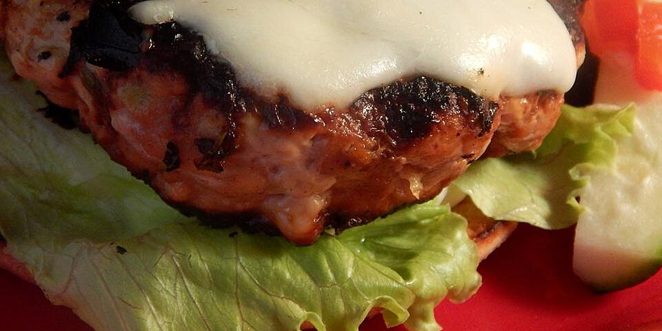 famous turkey burgers recipe