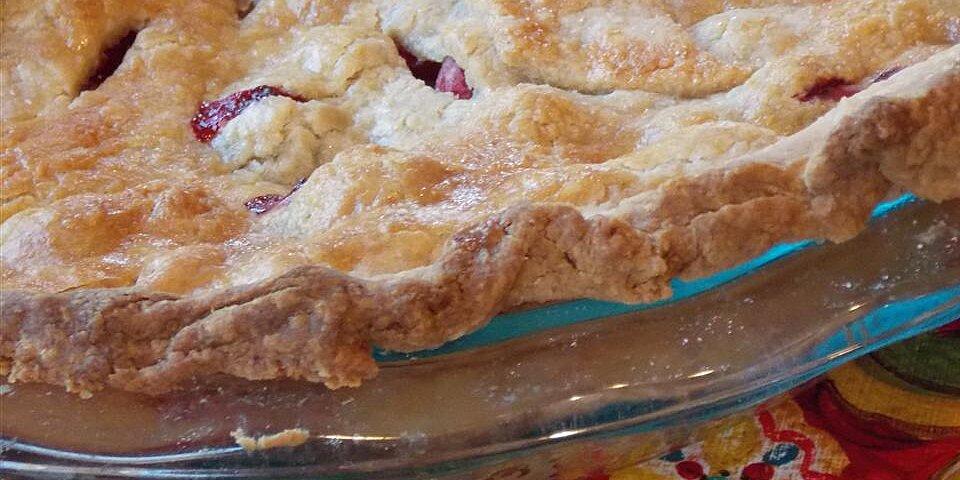 moms cranberry apple pie