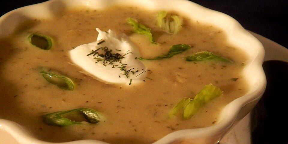 zucchini soup with farina recipe