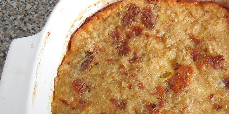moms pineapple bread pudding recipe