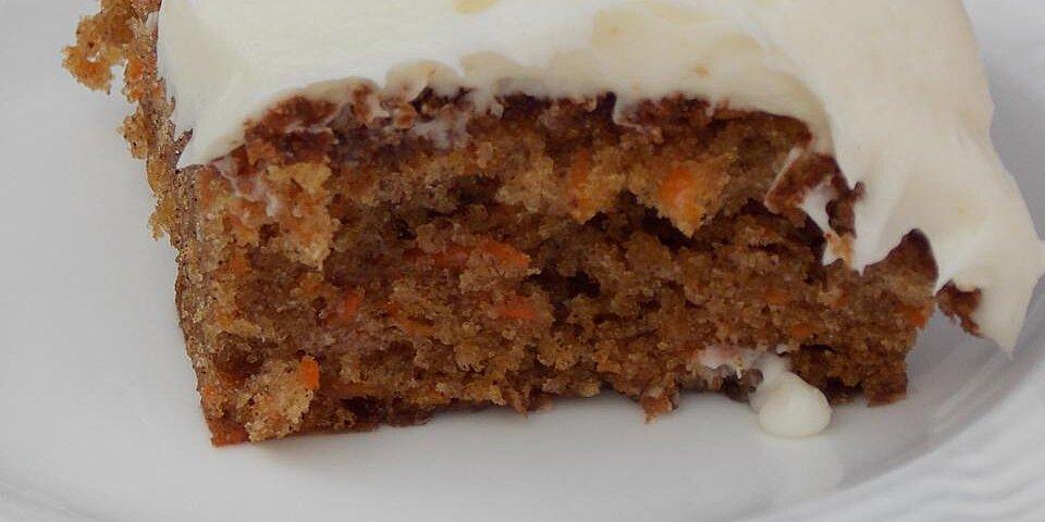 sister beths carrot cake recipe